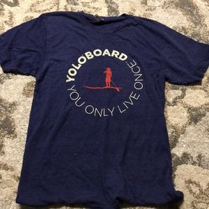Yoloboard outdoor brand you only live once T-shirt